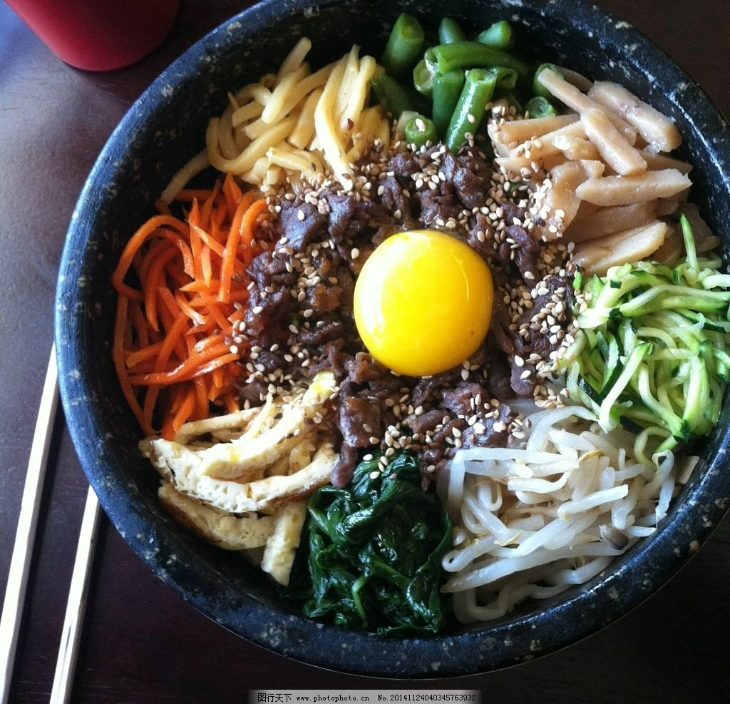 唯美石锅饭 韩国料理 韩式 韩国菜 美味 美食 食物 食品 健康