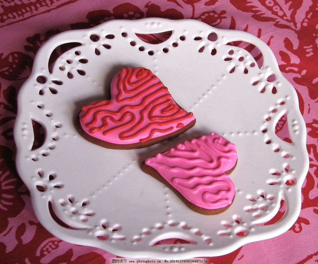爱心蛋糕 爱心图片