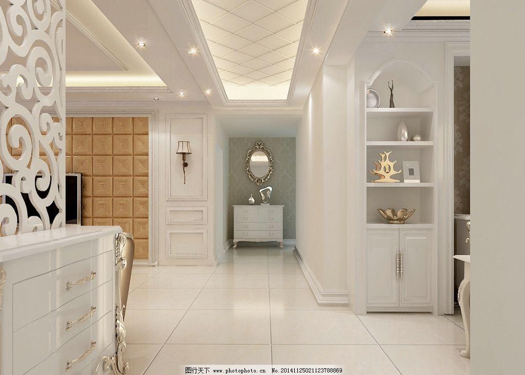 家装 欧式 过道 设计 装修 设计 3d设计 3d作品 300dpi jpg