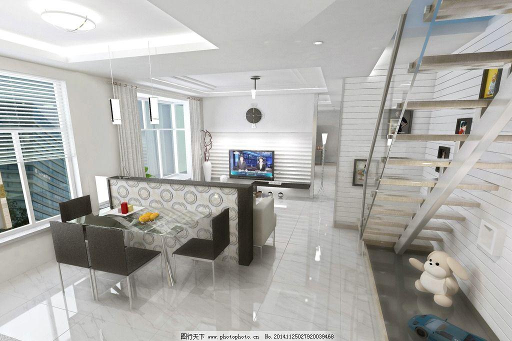 室内装修 室内设计 越层装修