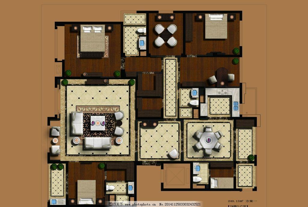 办公兼住宅室内设计