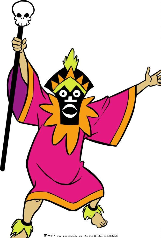 鬼怪万圣节卡通人物图片,卡通图库 卡通角色 幼儿园图