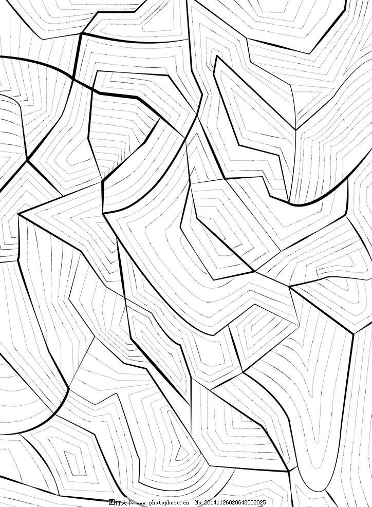 手绘线条学习用品速写
