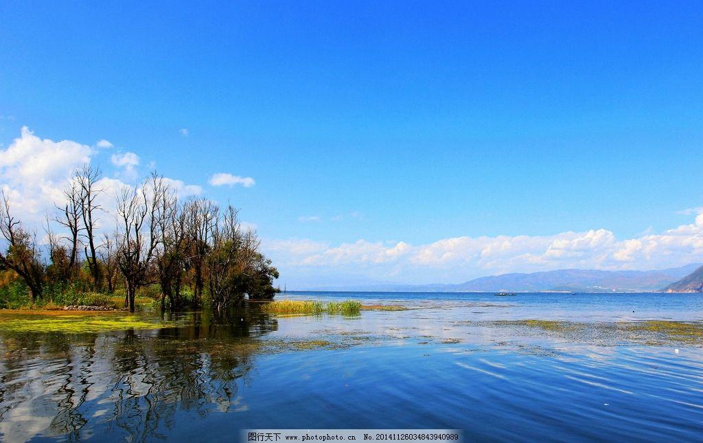 洱海孤岛图片
