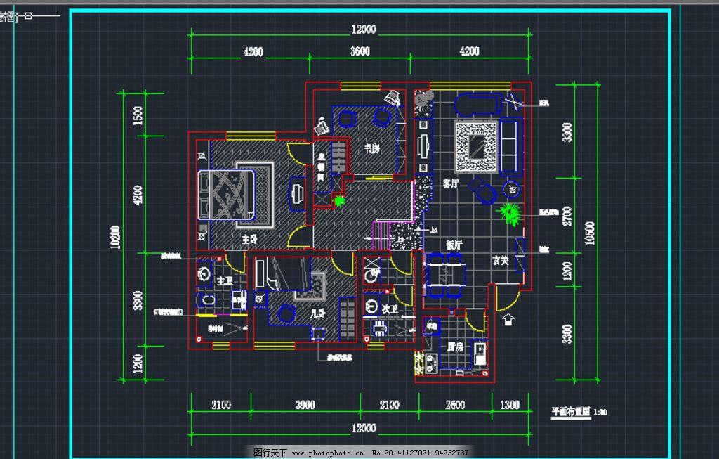 室内设计包括cad图纸,框架图,平面布置图,顶面图,地面图,电路图,索引