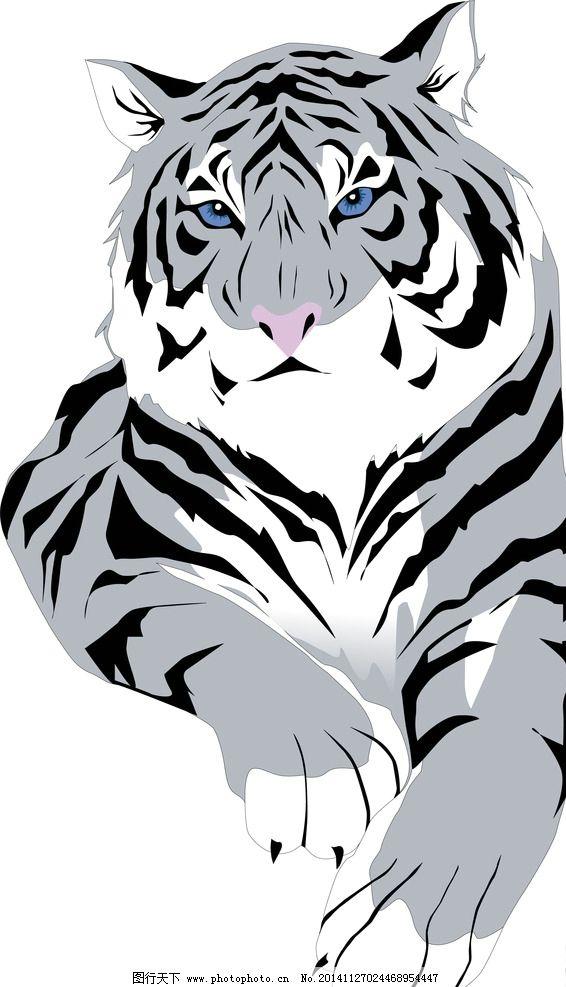黑白写实素描动物