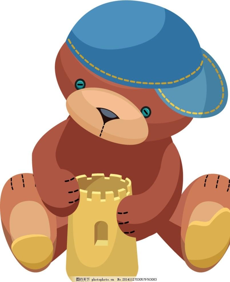 可爱小熊 卡通熊