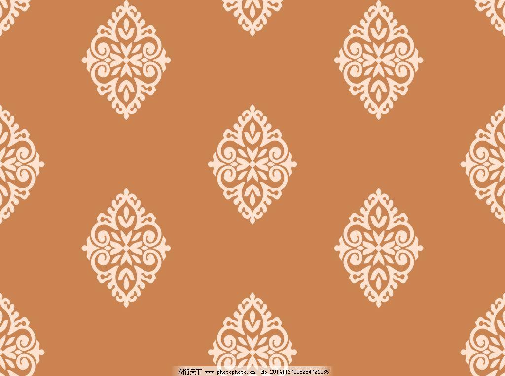 复古欧式花纹免费下载 背景 背景底纹矢量素材 壁纸 底纹背景 对称图片