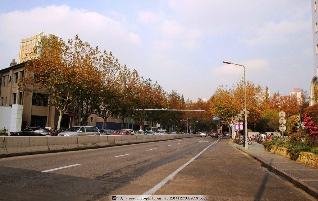 城市马路图片