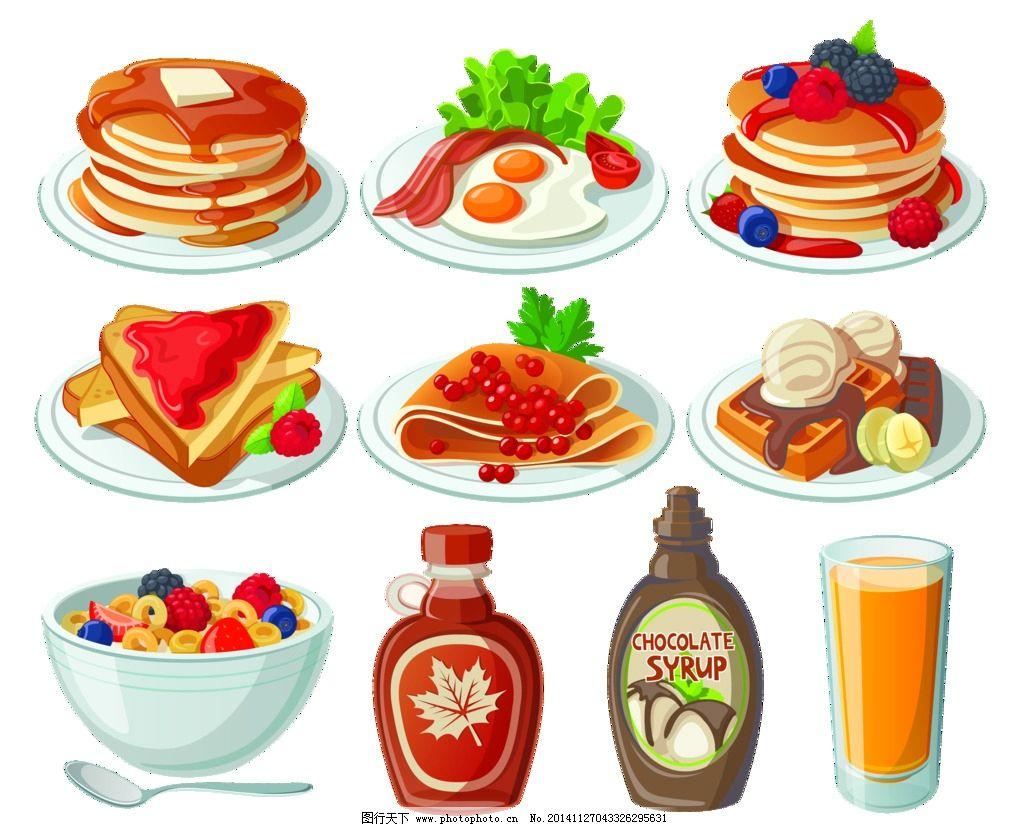卡通食物图片