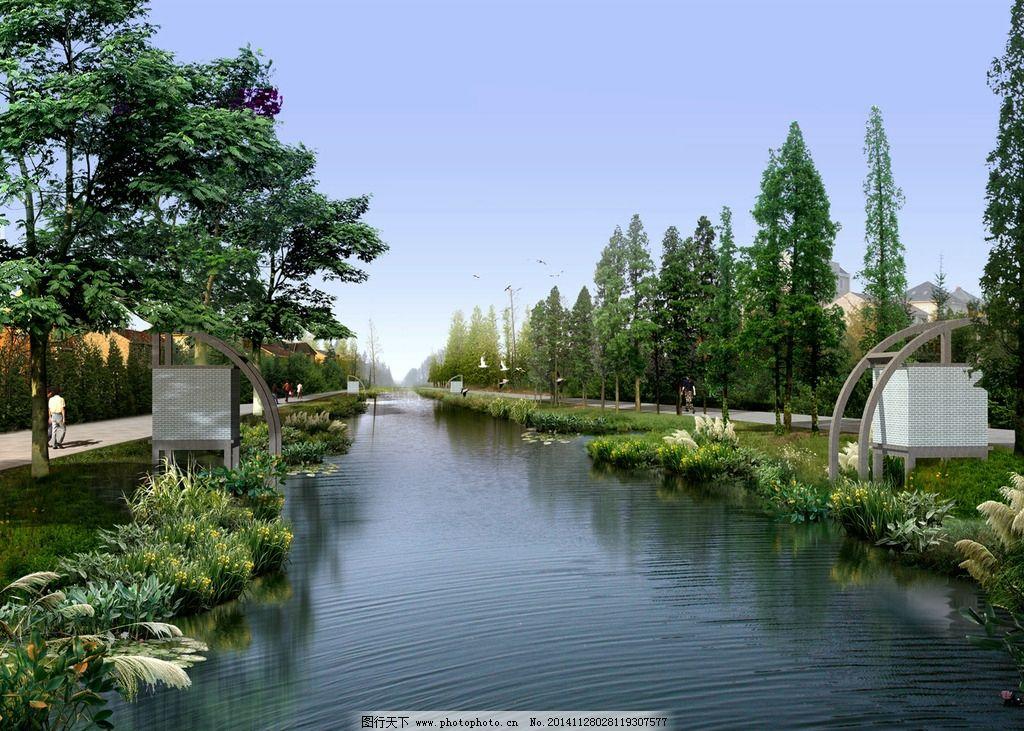 河边休闲景观设计图片天水平面设计图片