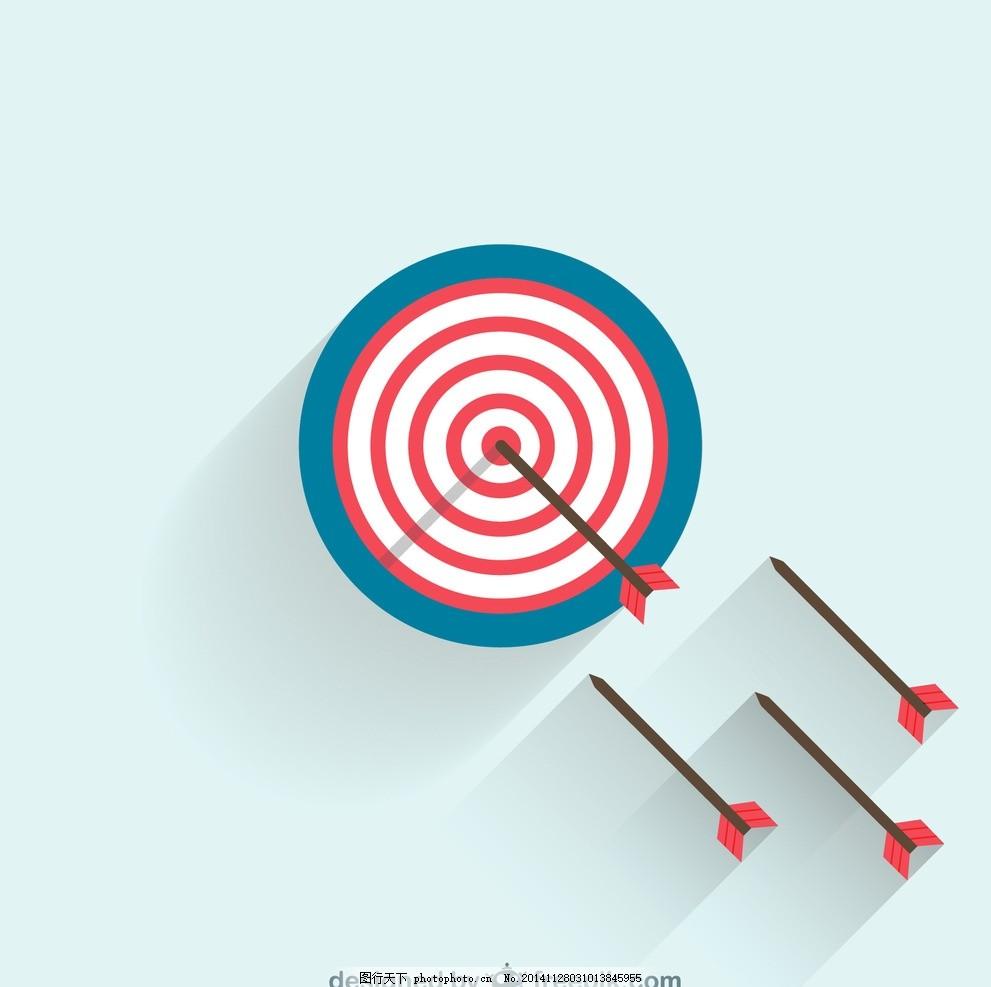 射箭 箭靶 箭头 运动 命中 创意背景 广告元素 背景元素 文化艺术