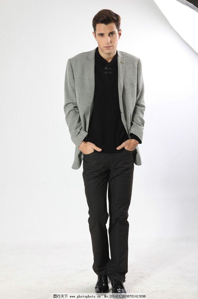 黑色西裤 休闲西裤 休闲男士