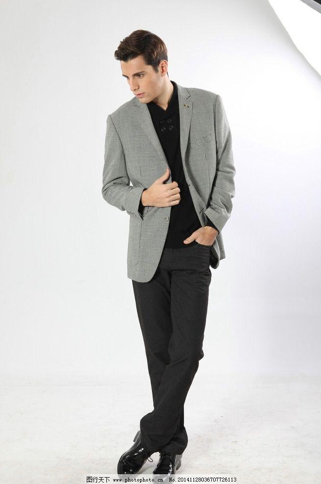 休闲西裤 欧式西装