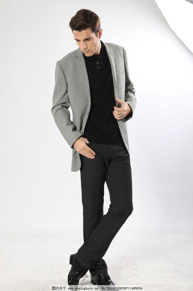 帅气男士 个性帅气 外国模特 商务 欧美模特 外国男士 休闲装男模