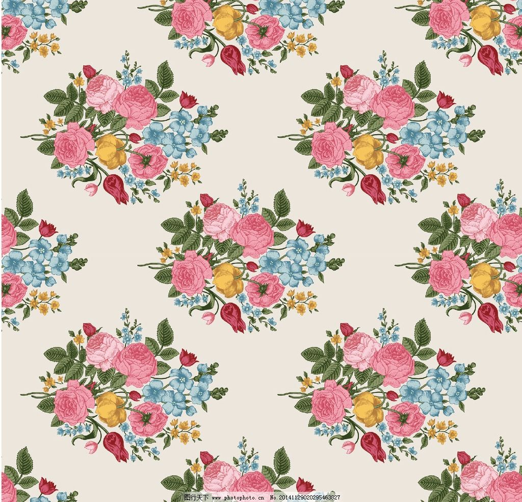 玫瑰 底纹 花纹 连续花纹 二方连续花纹 玫瑰花 设计 底纹边框 背景