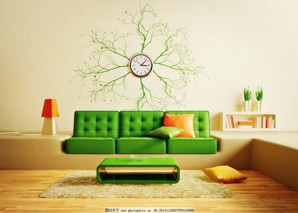 绿色调欧式装修风格