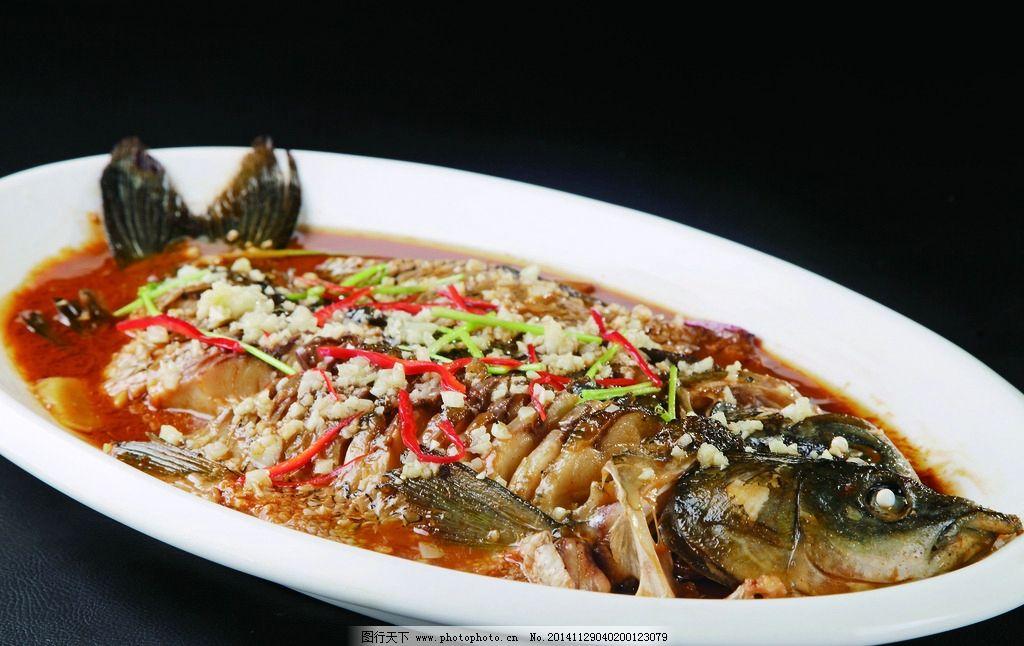 微山湖炖鱼的做法_摄影图库 餐饮美食 传统美食  微山湖焖大鱼 炖鱼 鲤鱼 酱焖鱼 红烧鱼