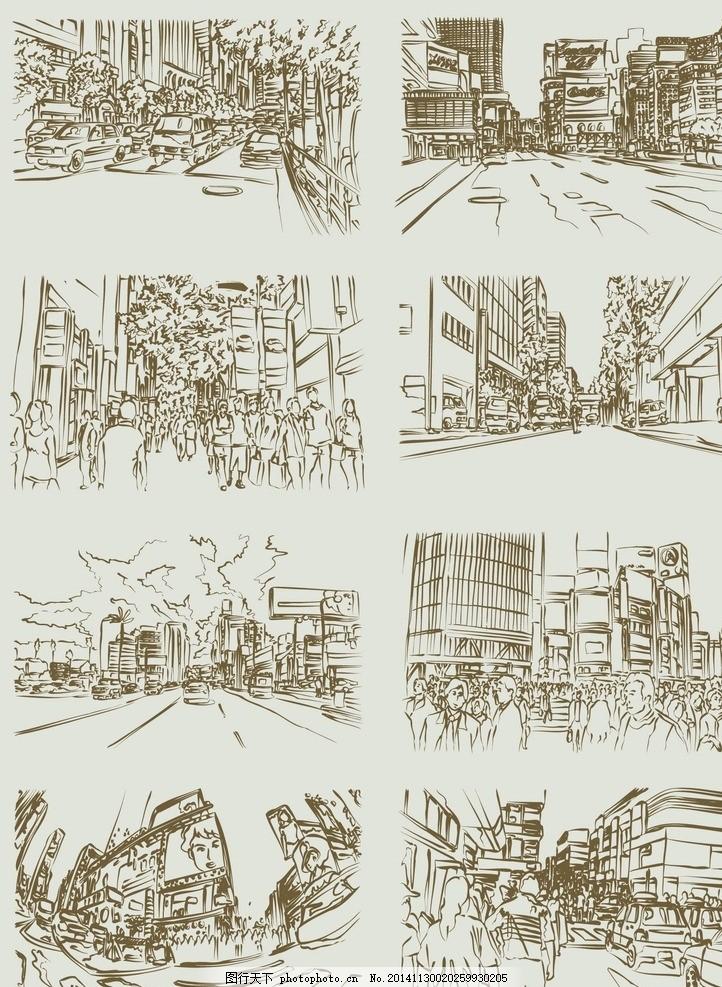 厦建筑建筑剪 影楼剪影黑白 矢量图案底纹 矢量花朵黑图 名人物漫画图