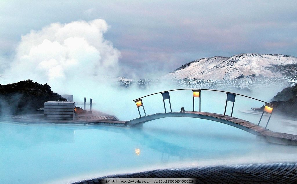 冰岛蓝湖图片