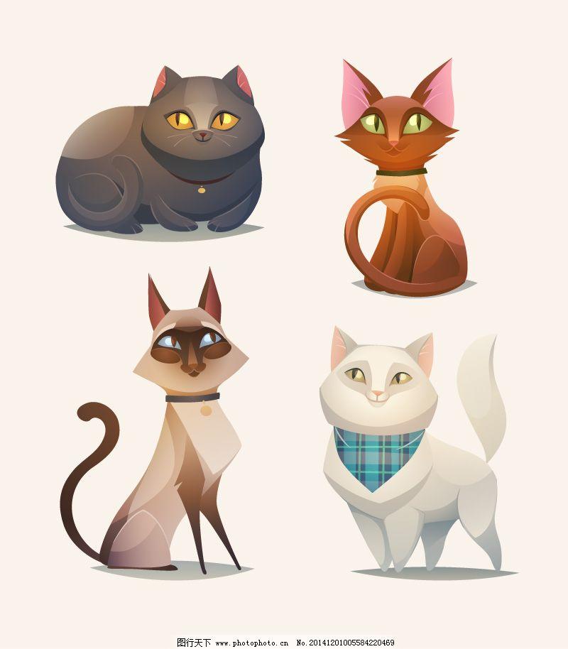 卡通猫咪设计