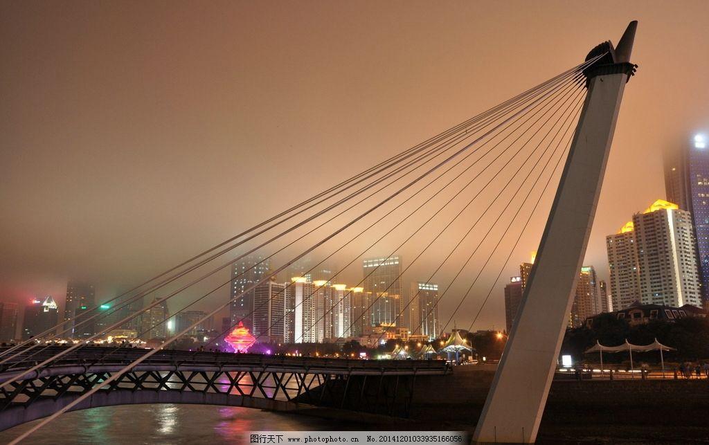 青岛奥帆中心夜景图片
