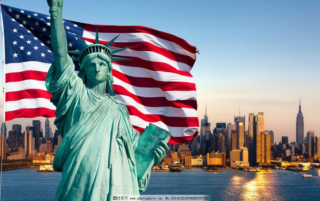 美国/自由女神像图片
