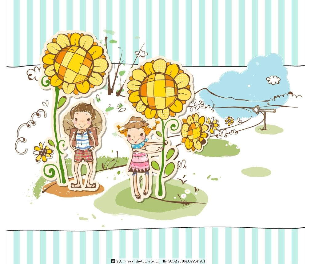 本本封面 图案 可爱 儿童图集 卡通设计 广告设计 儿童插画 手绘 旅行
