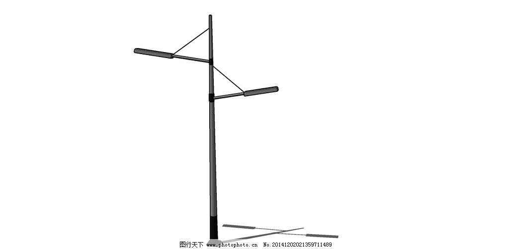 路灯三相跳跃式接线图