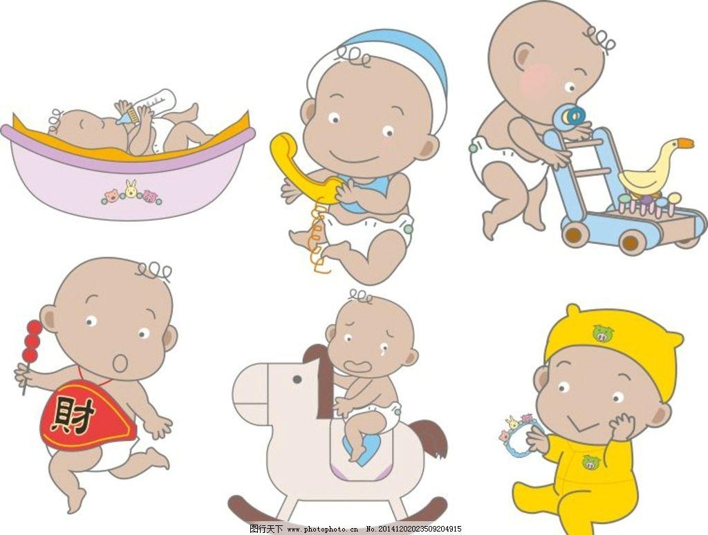 bb 小孩子 线条画 幼儿 儿童幼儿 卡通 手绘 矢量人物 矢量 婴儿 孩子