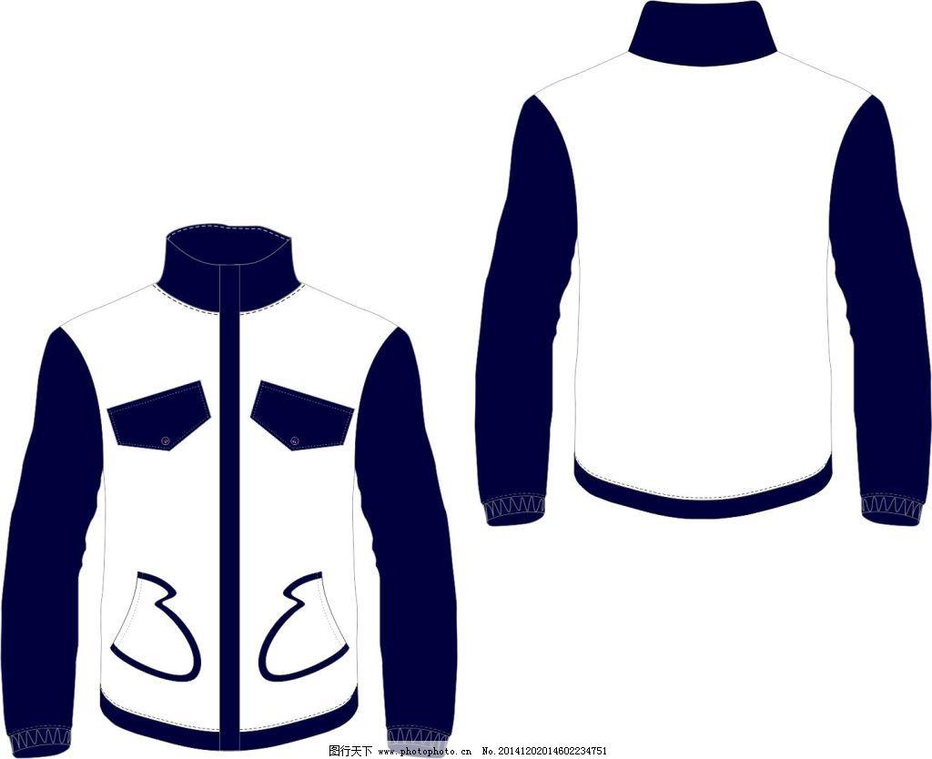 白色卫衣免费下载 平面设计图 矢量图 衣服 平面设计图 衣服 矢量图