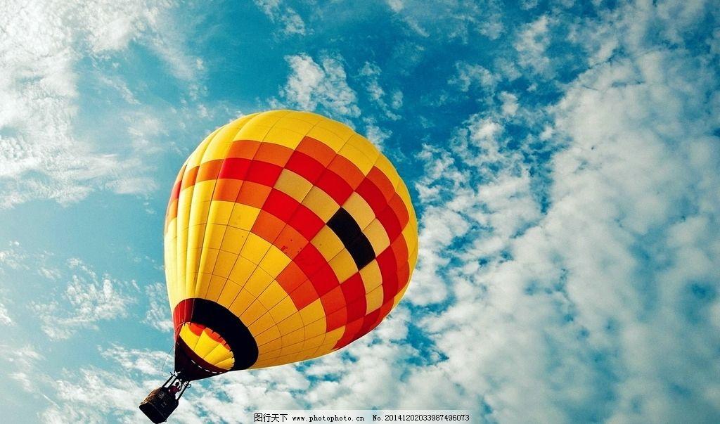 唯美热气球图片