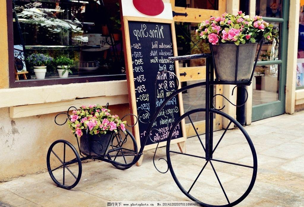 浪漫自行车-单车图片唯美图片