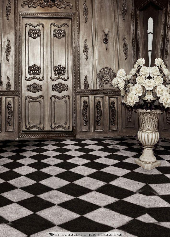 欧式门图片_室内摄影_建筑园林