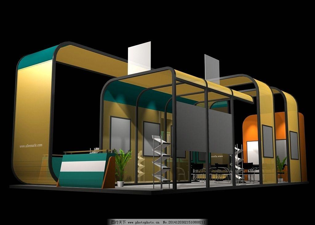 展厅 会展 展览展示设计 展厅设计 会展设计 展厅max模型 空间设计