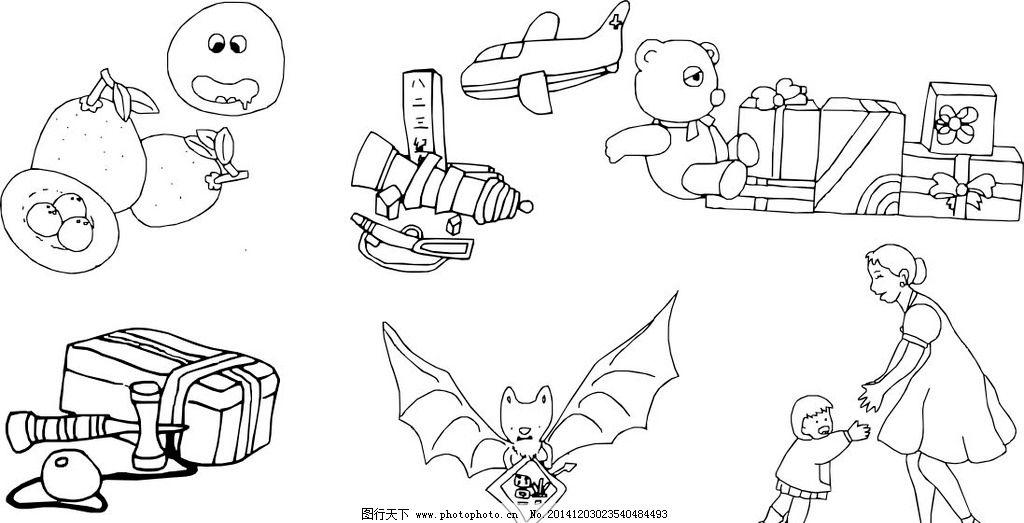 卡通画 礼物 医药箱 蝙蝠 亲子 宝宝 妈妈 飞机 小熊 漫画 素描 速写 线条画 动漫人物 绘画书法 手绘 手绘图 卡通手绘图 铅笔画 黑白画 设计 儿童 儿童素材 文化艺术 画画 卡通儿童 手绘卡通儿童素材 设计 人物图库 儿童幼儿 CDR