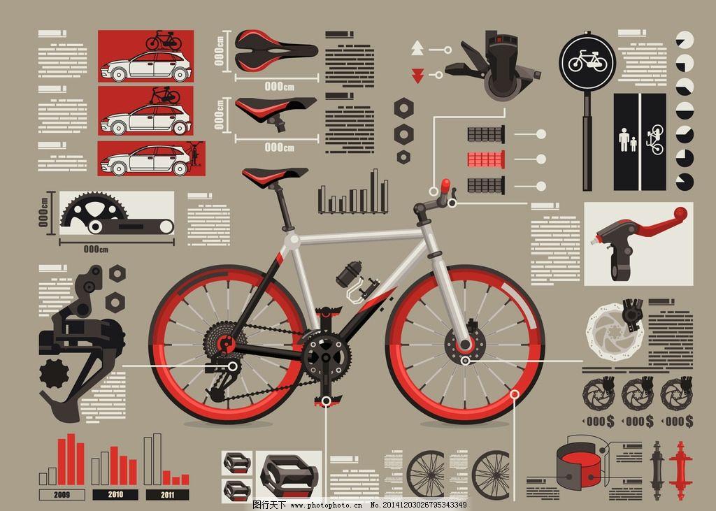 自行车零件结构图图片