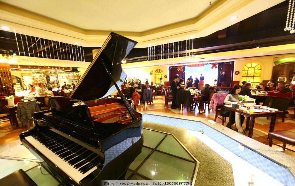 欧式自助餐厅图片_室内摄影