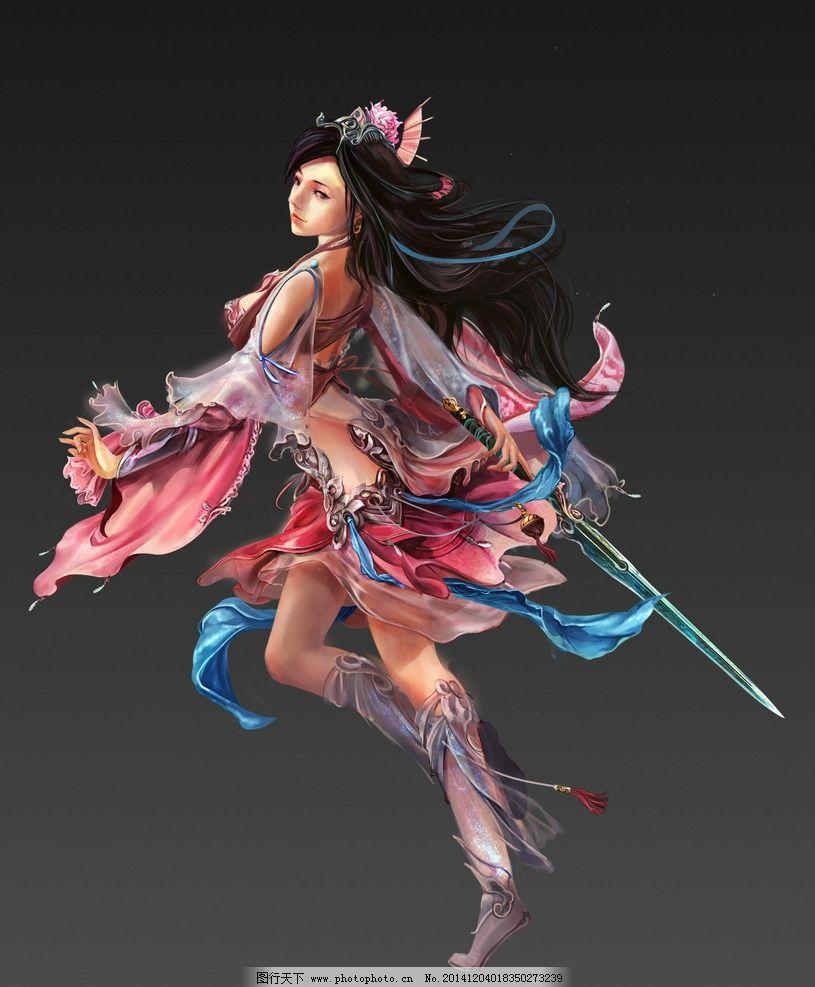 游戏 游戏原画 原画 游戏人物 网游 武侠 玄幻 武将 动漫人物 美女