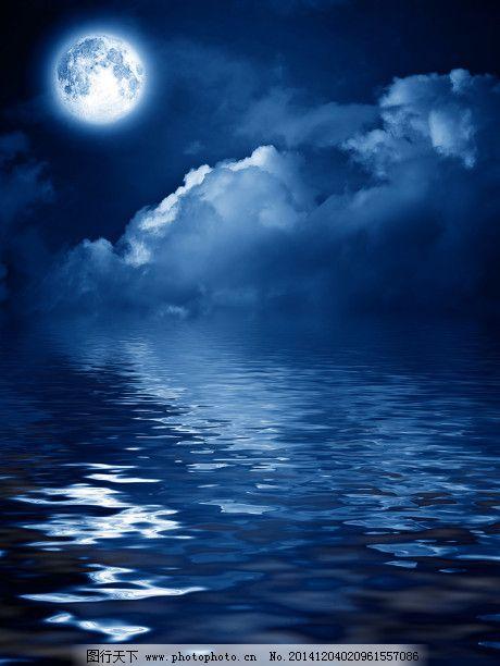 夜晚星空高清背景图片