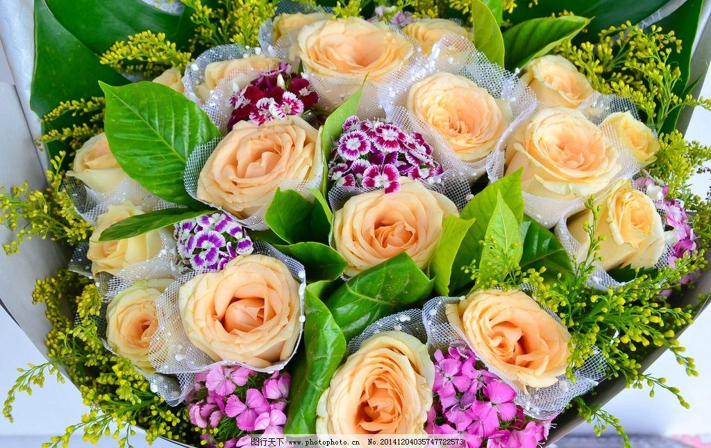 玫瑰花鲜花花束图片