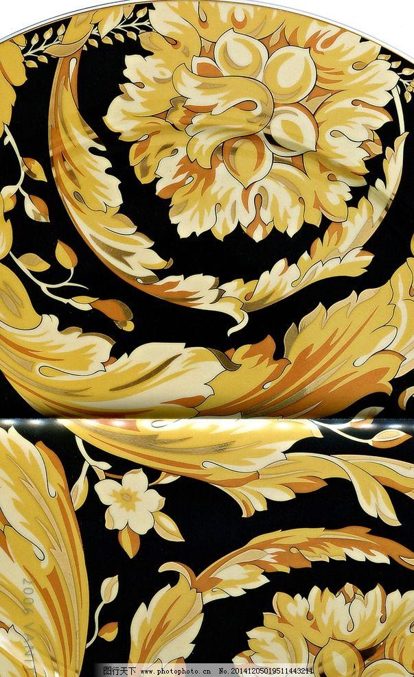 范思哲 陶瓷 欧式 图腾 经典 设计 文化艺术 其他 150dpi tif