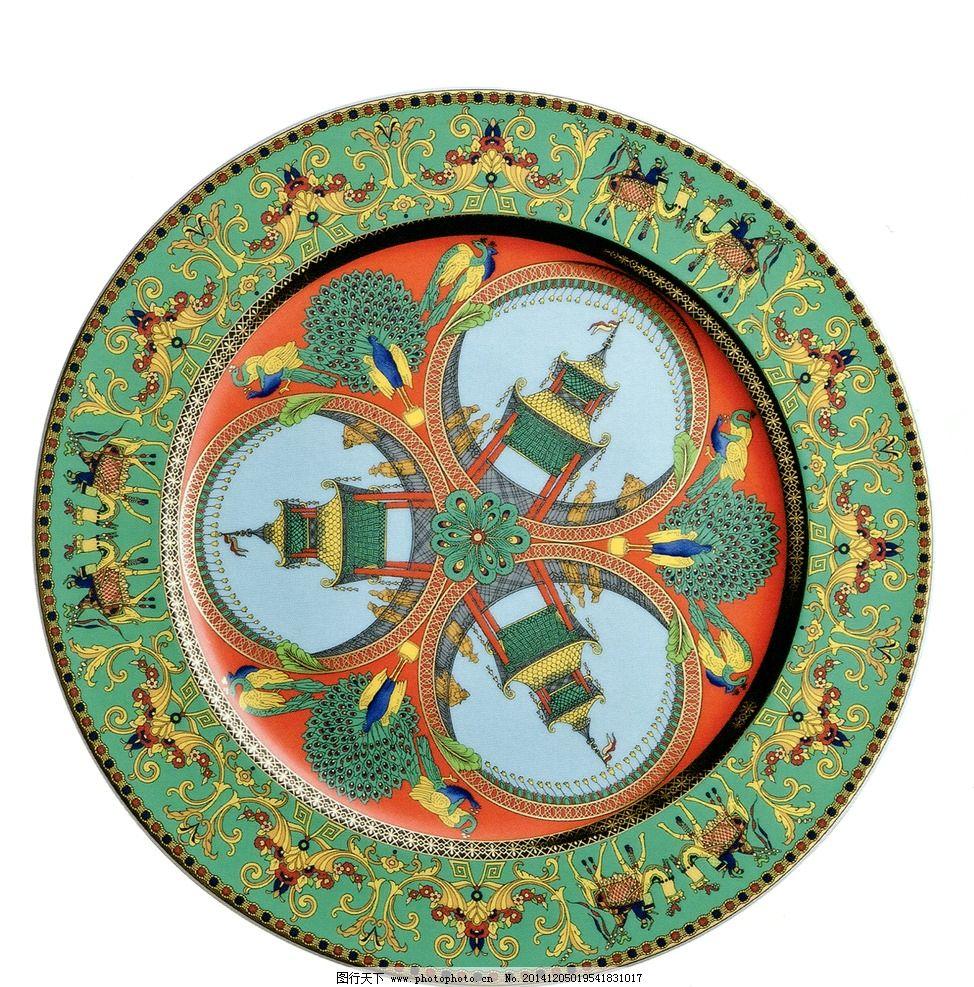 范思哲陶瓷 欧式 图腾 人物 孔雀