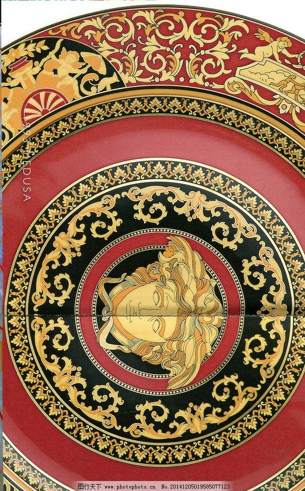 范思哲 陶瓷 欧式 图腾 经典 设计 文化艺术 其他 180dpi tif
