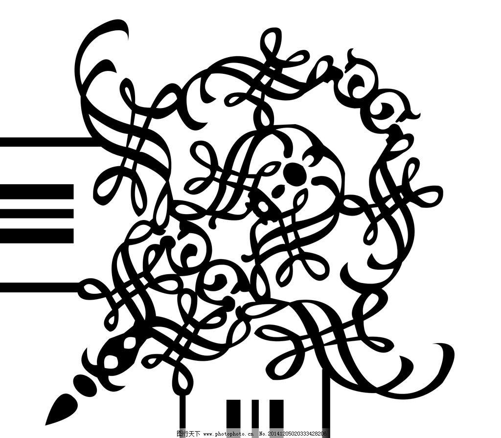 线条 边框 底纹 素材 角花 对花 画框 设计 底纹边框 花边花纹 118dpi