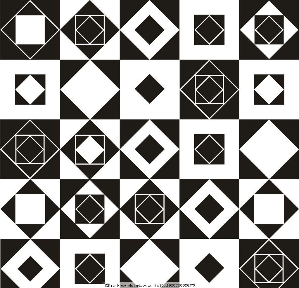 简易平面构成 简易矢量图形 矢量图形 黑白 矢量素材 平面构成 设计