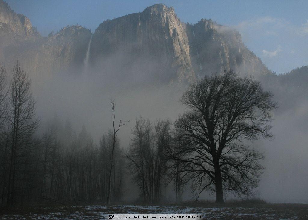 山峰 树 树林 森林 雾 风景 唯美 自然风景 摄影 自然景观 自然风景