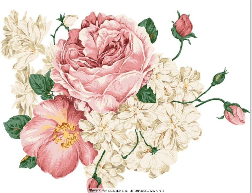 背景墙花纹 花纹 玫瑰花 花朵 花儿 花 月季花 花边 底纹 红花 花底纹