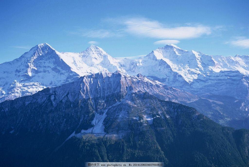雪山风景图片_自然风景