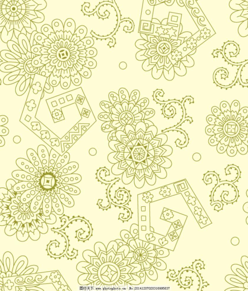 墙纸 花纹花边 欧式 欧式花纹背景 素材 花样相框 移门墙纸 移门贴纸